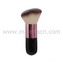Angled Cosmetic Powder Brush with Synthetic Hair