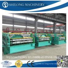 Rollo de azulejo esmaltado del control del PLC de la alta calidad que forma la máquina