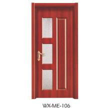 Niedriger Preis Ausgezeichnete Qualität Hotsale Melamin-Tür (WX-ME-106)