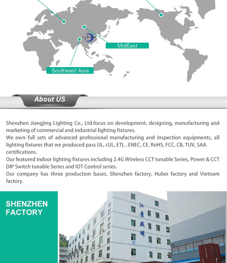 7 flat linear high bay lights factory