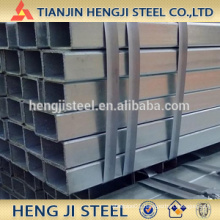 Square / Rectangle Galvanized Steel Tube Thickness 1.9mm