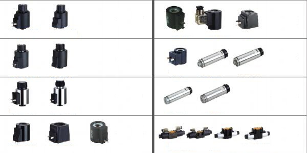 more hydraulic solenoid coils