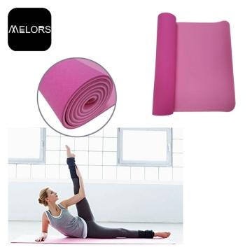 Melors TPE Material Não Tóxico Tapete de Yoga Barato