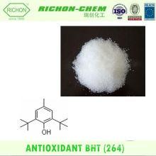 Materia prima con mejores ventas del proveedor de China de los productos para 2,6-Di-terbutyl-4-methyl phenol CAS NO.128-37-0 BHT Powder