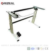 Großhandelsmotorisierter Höhen-Anpassungs-elektrischer Standup-Schreibtisch-Rahmen mit Prüfer