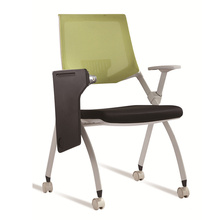 Full Mesh Plastic Conference Chair / School Chair com Tablet de escrita