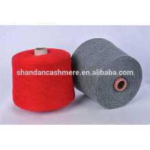 wool cashmere blend yarn 80% wool 20% cashmere top woolen Yarn