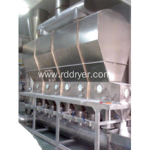 Horizontal Fluidized-Bed Dryer