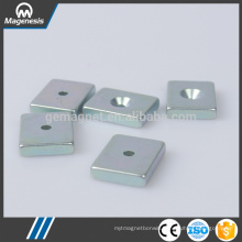 In many styles competitive radial magnetized ndfeb magnet