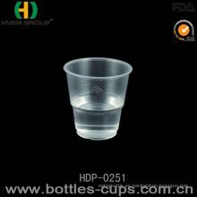 Taza plástica desechable de alta calidad de la taza de la taza