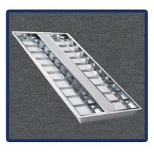 Lampe de plafond 1220 * 600 / T5 / 4X40W encastrée Grille