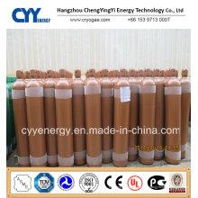 50L Sauerstoff 150bar / 200bar Nahtloser Stahlgaszylinder mit ASME ISO