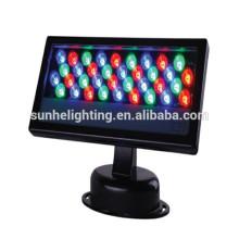 Arandela de pared al aire libre iluminación de iluminación rgb cambio de color 24v 100-240v 12W RGB LED arandela de pared