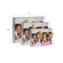 Marcos de fotos de plástico familiares personalizados APEX