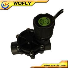 Plastic submersible solenoid valve