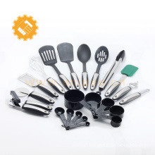 Good quality 22- piece german kitchen appliances kitchen accessories item tools with TPR handle