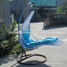 Mobília ao ar livre bela cadeira de balanço