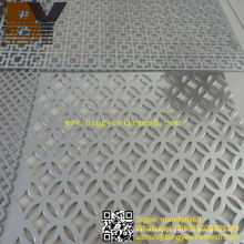 Powder Coated Aluminum Perforated Metal Sheet