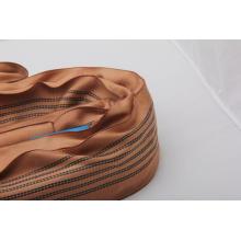 Qualité supérieure Brown 6 Tonnes Sling Round Avec Certificat CE
