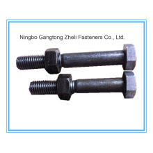 British Standard Hex Head Bolt with Black Finish