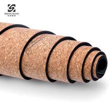 Private Label Eco Friendly Organic Natural Rubber  Cork Yoga mat  with Custom Print Mandala Sublimation Printing