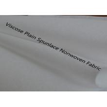 Liso Spunlace poliéster / Viscosa no tejida