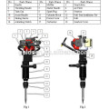 900w 32.7cc Handheld Petrol Jack Hammer Portable Gasoline Rock Drill Breaker
