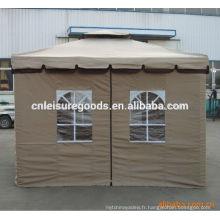 Gazebo extérieur de tente de cadre en métal