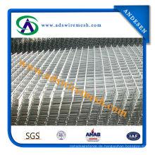 4X4 galvanisierter geschweißter Maschendraht u. Gebäude, die Maschentafel-u. Bau-Zaun-Platten in Rolle einzäunen