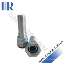 Bsp Female 45# Carbon Steel Hydraulic Hose Fitting (22611)