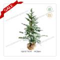 H40-140cm PE Christmas Tree with Snow Artificial Christmas Tree