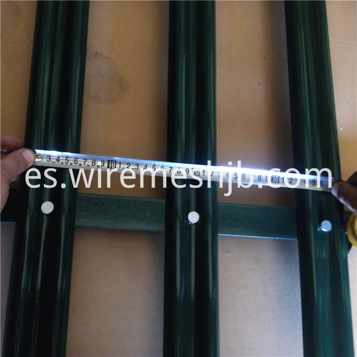 W Section Security Fencing