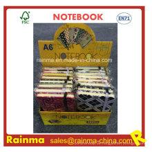 A6 Mini Notebook im Display