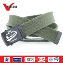 Cinturão de lona verde do exército de 2014 durável