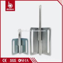 Bloqueio e rotulação de borboleta Segurança Hasp de aço inoxidável BD-K31 e K32, 10 cadeados permitidos