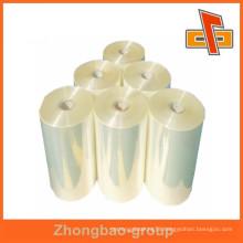 Zhongbao high quality clear heat sensitive PVC film in rolls