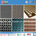 Punched Hole Stainless Steel Sheet for Decoration with ISO SGS