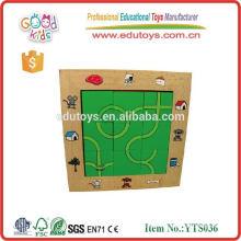 Rompecabezas educativo de la madera del rompecabezas para el rompecabezas del laberinto de los niños