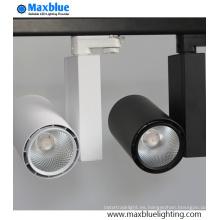 10 grados de ángulo pequeño 20W LED Tracklight con Meanwell Driver