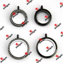 Verrouillage en acier inoxydable en acier inoxydable de 25 mm / 30 mm et blocs en verre plats (SLK60129)