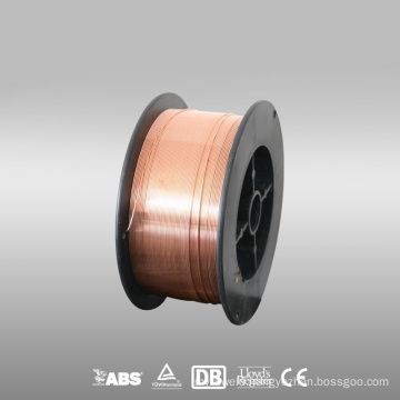 High quality copper cored gas shielded mig wire er70s-6 with suitable welding wire price