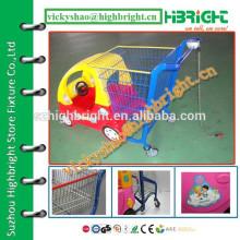 Детская игрушка автомобиль стиль корзина с монетным замком