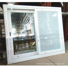 Upvc Sliding  Window  with Mosquito Screen Grill Design