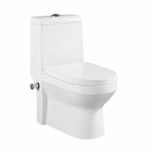 Articles sanitaires chauds de vente au RU vers la toilette de mur avec la buse de jet