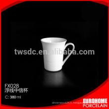Chaozhou usine Chine gros stock porcelaine dîner unique tasses à café