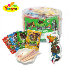 CC stick Candy with 3D Plants zombies card