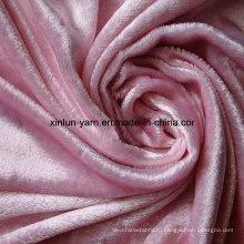 Flocking ткань для одежды/диван листа/Текстиль /