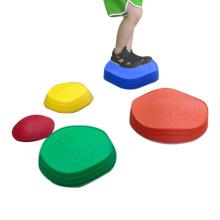 Equipamento de treinamento para equilibrar pedras de piso