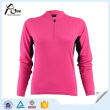 Mulheres respirável Soft Jacket Sport Design Ciclismo Wear