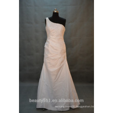 IN STOCK sleeveless wedding dress one shoulder ball gown bridal dresses SW40
